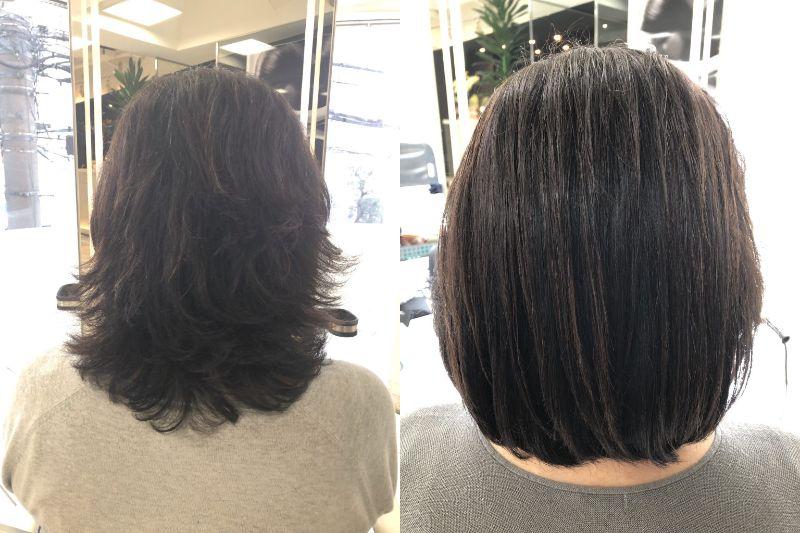 髪質改善レポート