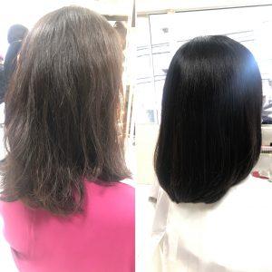 2回目の髪質改善レポート
