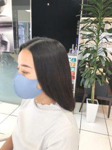 4ヵ月後/4回目の髪質改善事例