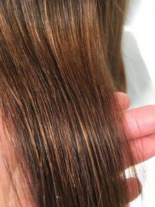 【施術後】内部外部から蘇った髪質