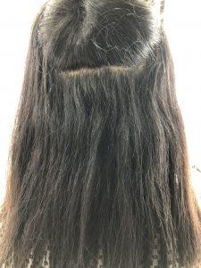 50代女性髪質改善トリートメント前アンケート