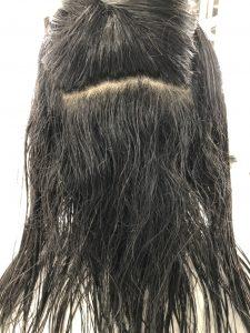 オリジナル縮毛矯正前のシャンプー