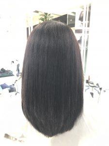 髪質改善トリートメント2回目の結果