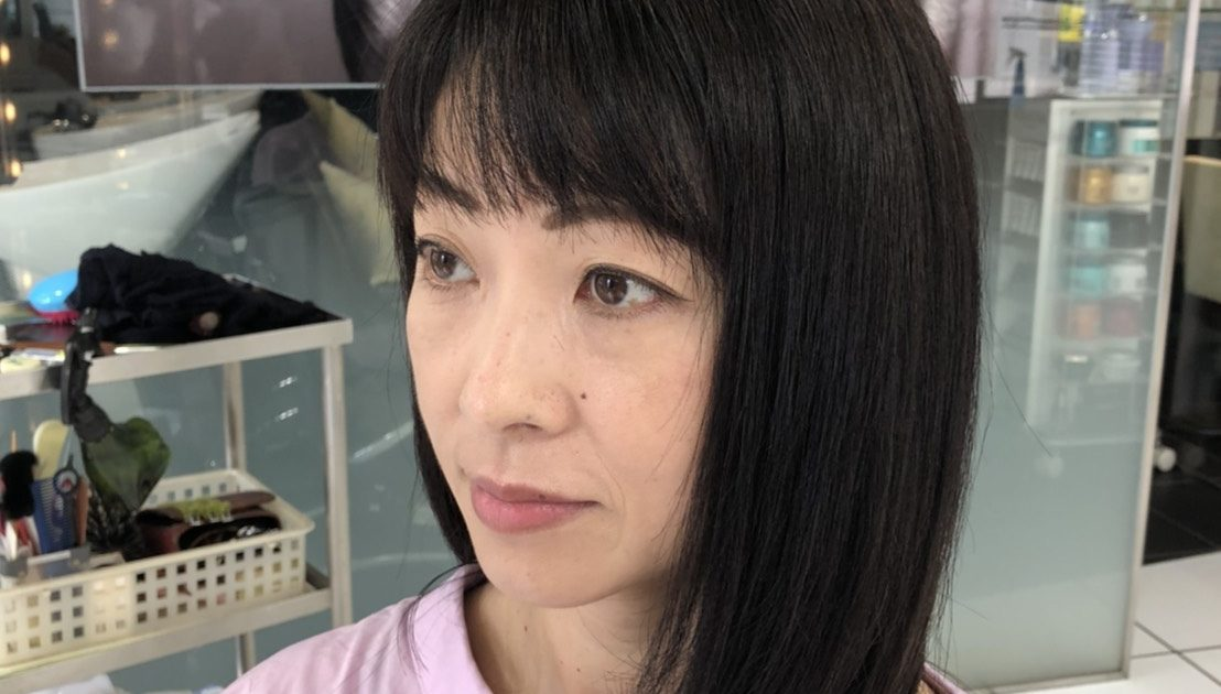 2ヵ月・目2回目の髪質改善トリートメント結果