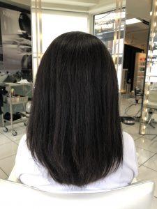 髪質改善3回目施術前