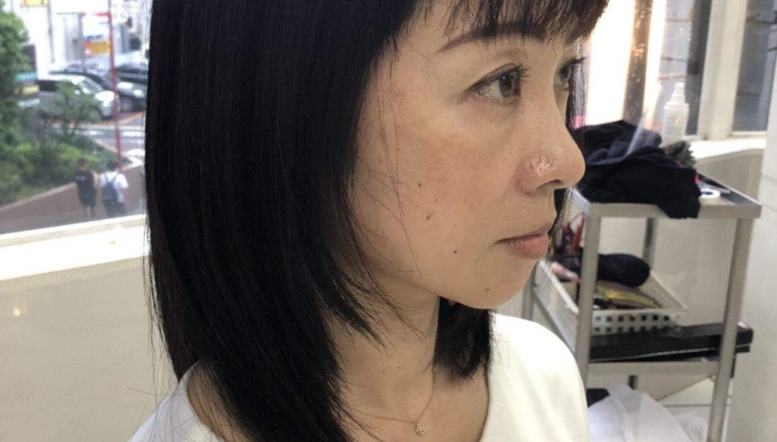 髪質改善3回目の施術後
