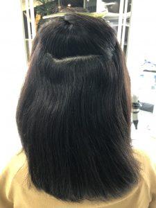 3ヵ月目髪質改善施術前