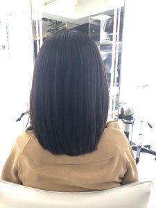 4回目4ヵ月後髪質改善結果